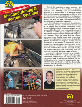 How to Repair Automotive Air-Conditioning & Heating Systems (SA458) (9781613255001)