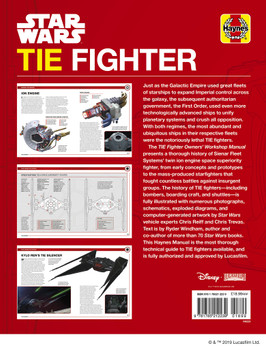Star Wars TIE Fighter Haynes Owners' Workshop Manual (9781785212239)