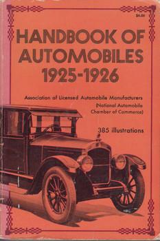 Handbook of Automobiles 1925-1926