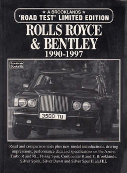 Rolls-Royce and Bentley Limited Edition 1990-1997 (9781855203938)