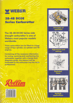 Rellim Tuning and Service Manual - Weber 38-48 DCOE Series Carburettor (William Hardiman, RE98950)
