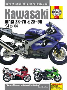 Kawasaki Ninja ZX-7R & ZX-9R (94 - 04) Haynes Repair Manual