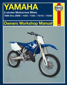 Yamaha 2-stroke Motocross Bikes (86 - 06) Haynes Repair Manual
