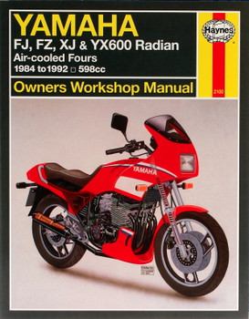 Yamaha FJ, FZ, XJ & YX600 Radian (84 - 92) Haynes Repair Manual