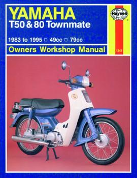 Yamaha T50 & 80 Townmate (83 - 95) Haynes Repair Manual