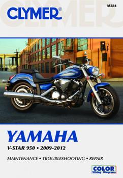 Yamaha V-Star 950 Motorcycle (2009-2012) Service Repair Manual
