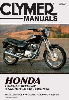 Honda Twinstar & Nighthawk 250 Motorcycle (1978-2016) Service Repair Manual