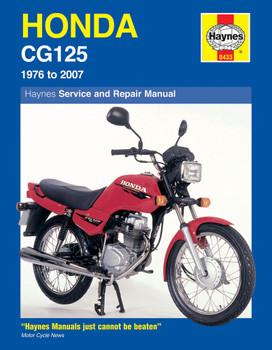 Honda CG125 (76 - 07) Haynes Repair Manual