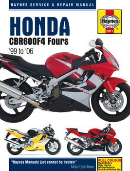 Honda CBR600F4 (99 - 06) Haynes Repair Manual