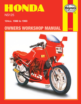 Honda NS125 (86 - 93) Haynes Repair Manual