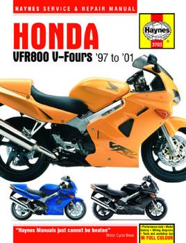 Honda VFR800 V-Fours (97 - 01) Haynes Repair Manual