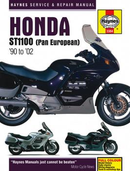 Honda ST1100 Pan European V-Fours (90 - 02) Haynes Repair Manual