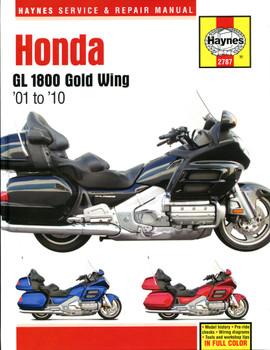 Honda GL1800 Gold Wing 1800 (01-10) Haynes Repair Manual