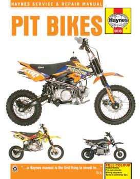 Pit Bikes Haynes Repair Manual