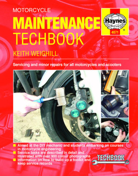 Motorcycle Maintenance TechBook Haynes Manual