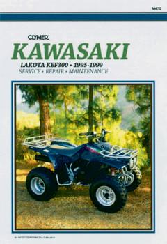 Kawasaki Lakota KEF300 ATV (1995-1999) Service Repair Manual