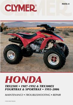 Honda TRX250X (1987-1992) & TRX300EX Fourtrax/Sportrax (1993-2006) Service Repair Manual