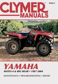 Yamaha Moto-4 & Big Bear ATV (87-04) Clymer Repair Manual