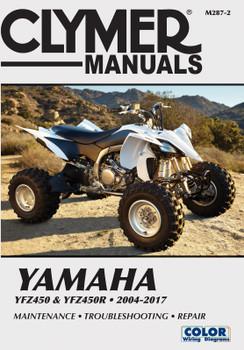 Yamaha YFZ450 & YFZ450R ATVs (2004-2017) Service Repair Manual