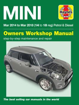 Mini Petrol & Diesel (Mar '14 - '18) Haynes Repair Manual