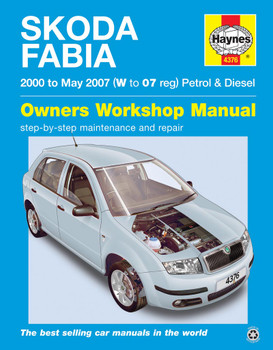 Skoda Fabia Petrol & Diesel (00 - 06) Haynes Repair Manual
