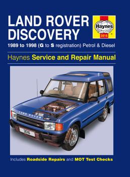 Land Rover Discovery Petrol & Diesel (89 - 98) Haynes Repair Manual