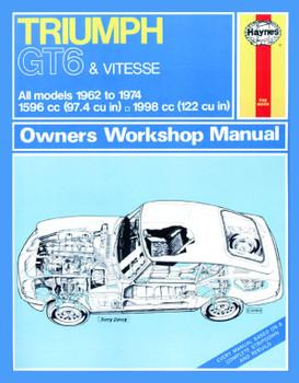 Triumph GT6 & Vitesse (62 - 74 ) Haynes Repair Manual