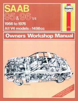 Saab 95 & 96 Petrol (66 - 76) Haynes Repair Manual