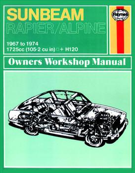 Sunbeam Alpine, Rapier & H120 (67 - 74) Haynes Repair Manual