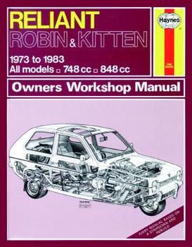 Reliant Robin & Kitten (73 - 83) Haynes Repair Manual