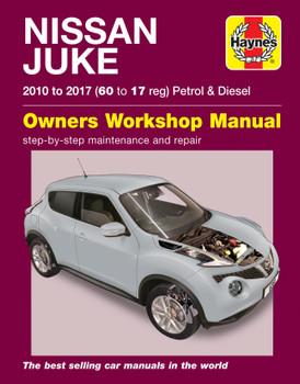 Nissan Juke (10 - 17) Haynes Repair Manual