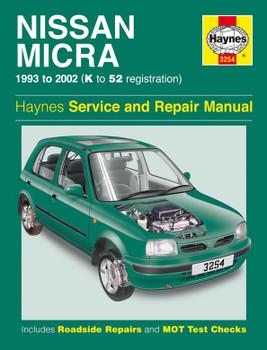 Nissan Micra (93 - 02) Haynes Repair Manual