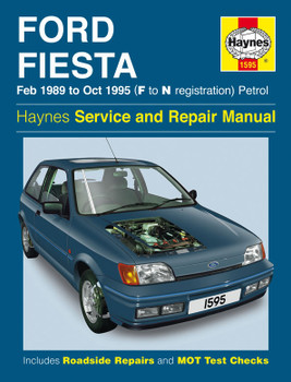 Ford Fiesta Petrol (Feb 89 - Oct 95) Haynes Repair Manual