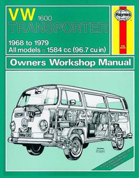 VW Transporter 1600 (68 - 79) Haynes Repair Manual