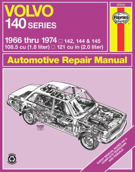 Volvo 140 Series (1966-1974) Haynes Repair Manual (USA)