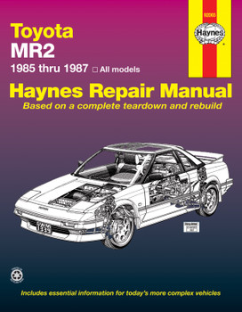 Toyota MR2 (1985-1987) Haynes Repair Manual (USA)