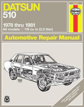 Datsun 510 (1978-1981) Haynes Repair Manual (USA)