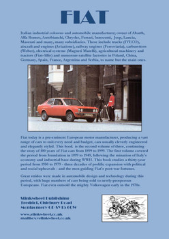 FIAT - Thirty Years of Progress 1950-1979 Volume 2 (9780954736385)