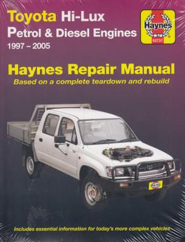 Toyota Hi-lux Petrol & Diesel (2.0, 2.7, 3.4 & 3.0L ) 1997 - 2005 Haynes Workshop Manual