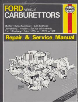 Ford Vehicle Carburettors (Ford, Pierburg, Solex, Weber) 1978 - 1991 Haynes Repair & Service Manual