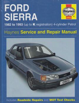 Ford Sierra 1982 to 1993 Petrol Haynes Service & Repair Manual (9781859600900)