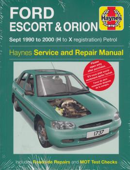 Ford Escort & Orion 1990 - 2000 Petrol Haynes Service & Repair Manual (9781785214332