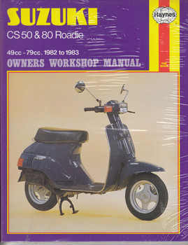 Suzuki CS50, CS50 D, CS80 49cc - 79cc 1982 - 1983 Haynes Owners Workshop Manual