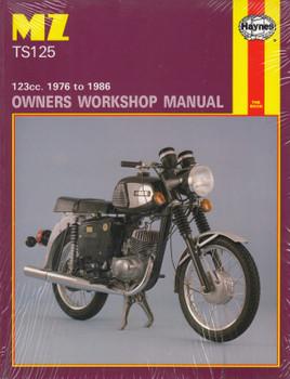 MZ TS125 123cc 1976 - 1986 Haynes Owners Workshop Manual (9781850102700)