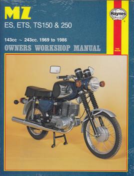 MZ ES, ETS, TS150 & TS250 143cc - 243cc 1969 - 1986 Haynes Owners Workshop Manual (9781850104650)