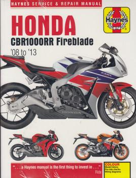 Honda CBR1000RR Fireblade 2008 - 2013 Haynes Service & Repair Manual (9781785214448)