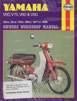 Yamaha V50, V75, V80, V90 1971 - 1986 Haynes owners Workshop Manual (9781850102298)