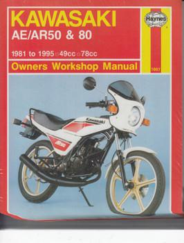 Kawasaki AE50, AR50, AE80, AR80 1981 - 1995 Owners Workshop Manual (9781859601730)