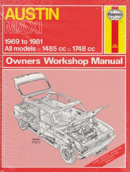 Austin Maxi 1969 to 1981 Haynes Owners Workshop Manual (9780856968921)