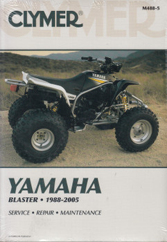 Yamaha Blaster 1988 - 2005 Clymer Repair Manual (9780892878833)